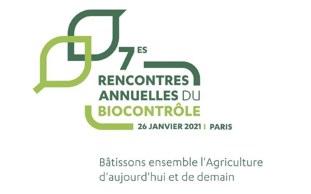 7 èmes Rencontres Annuelles du Biocontrôle : 26 Janvier 2021 –