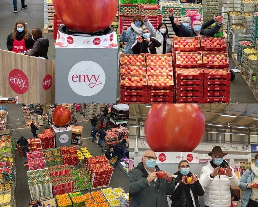 Le fruit du Jour : La pomme Envy – Interview découverte – Marché de Rungis