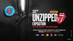 """Exposition """"Unzipped"""" : Plongée immersive dans l'univers des Rolling Stones dès le 10 Juin – Marseille !!"""