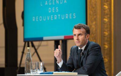 Agenda Prévisionnel des Réouvertures et phases de déconfinement Mai et Juin 2021